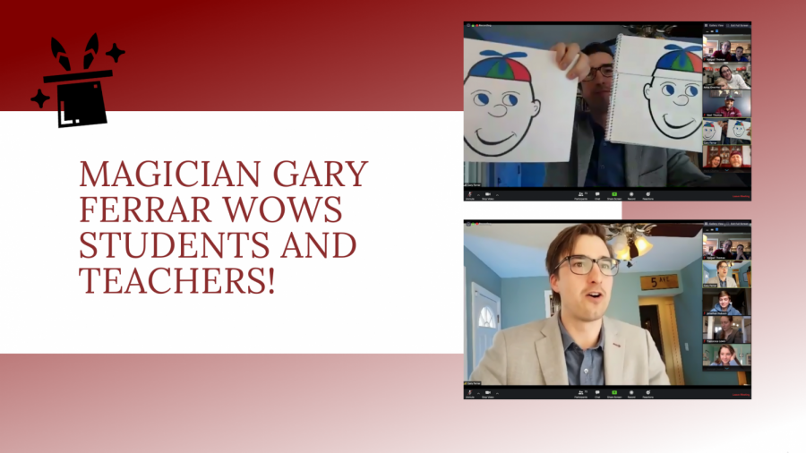 Magician+Gary+Ferrar+Wows+SLS+Students+and+Teachers