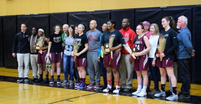 Girls+Varsity+Basketball+Team%E2%80%99s+Camaraderie+Propels+Them+to+Triumphant+Senior+Day