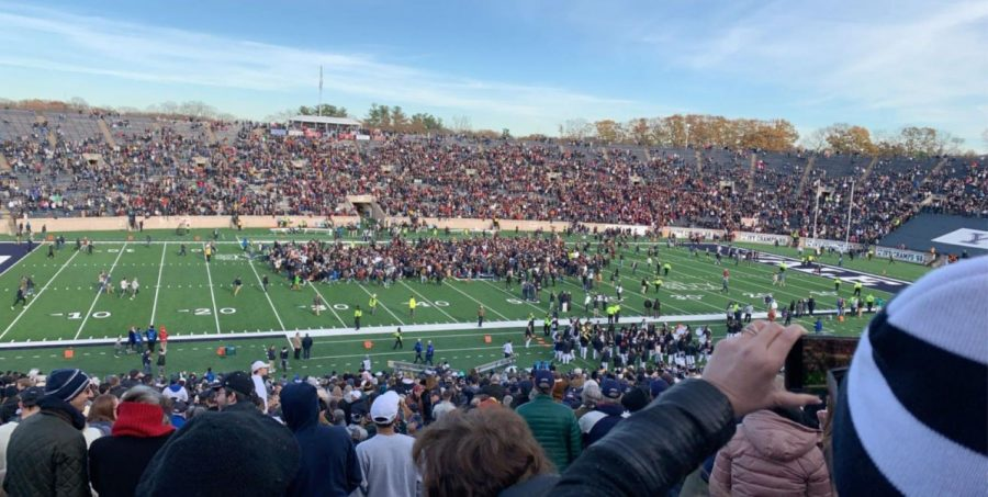 Student Protestors Raise the Stakes at Recent Harvard-Yale Football Game