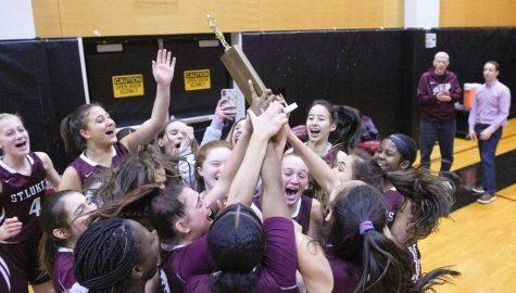 Girls Varsity Basketball Obliterates GFA for FAA Title