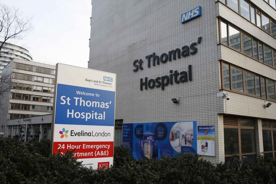 Guy's and St. Thomas' Hospital (CNN)