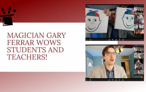 Magician Gary Ferrar Wows SLS Students and Teachers