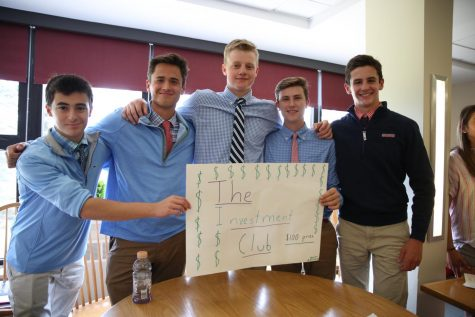 Members of the Investment Club at the 2019 Club Expo.